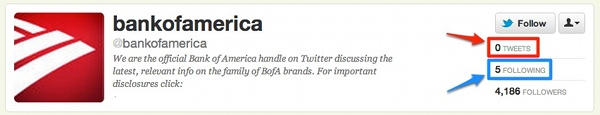 Official Bank of America Twitter Account
