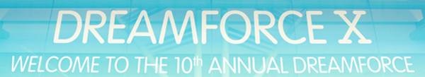 Dreamforce 2012, the tenth edition of the SalesForce conference