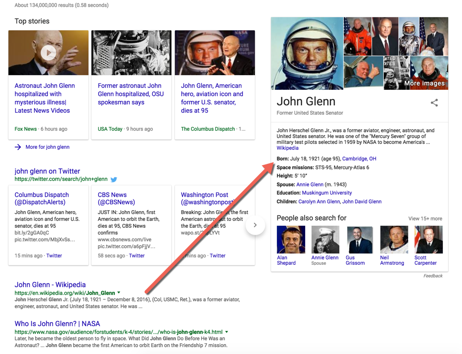 Google knowledge graph slow update