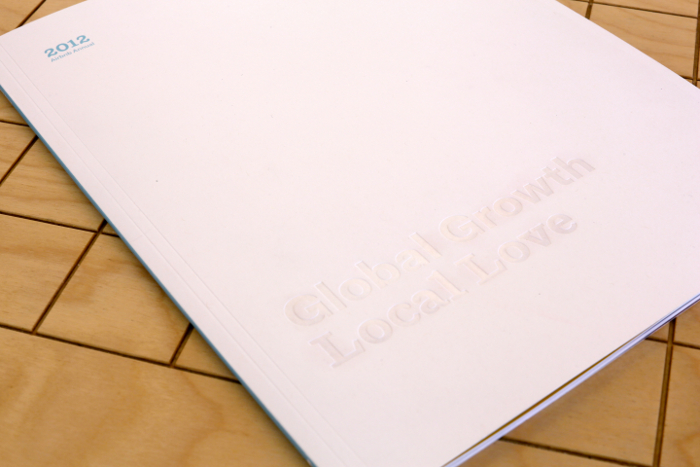 Airbnb 2012 Annual report in print