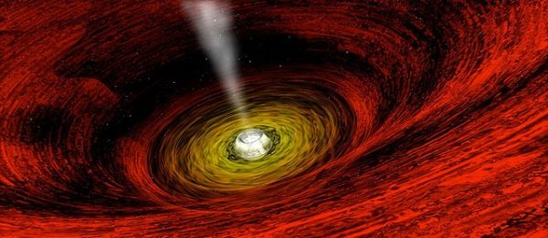 What Comes Out a Black Hole - Pics about space