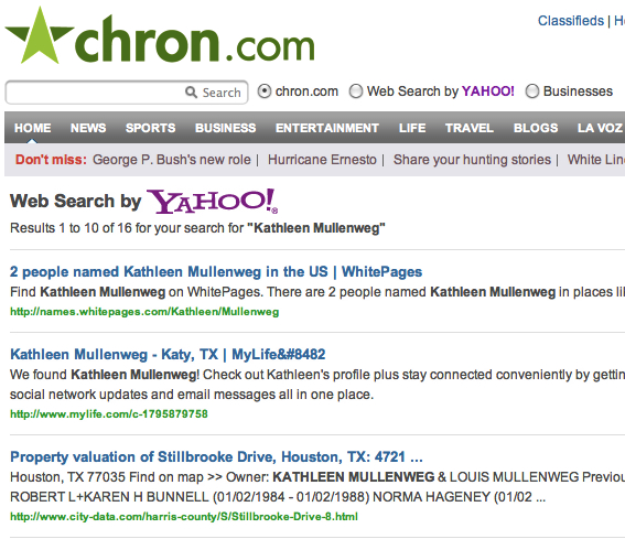 Chron search pages linked from article