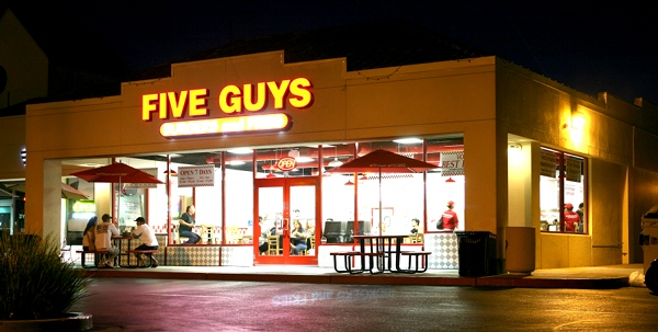 Five Guys Burgers and Fries in San Jose