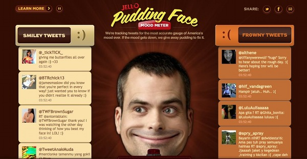 Jello Pudding Face website