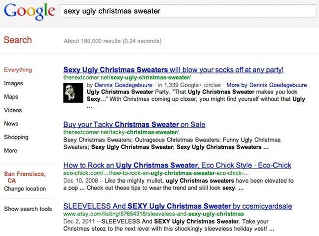 First Rich Snippets enabled