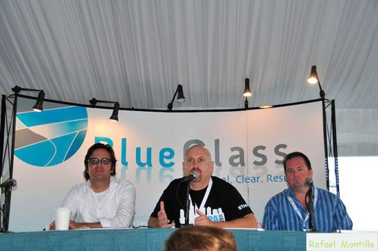 Speaking at BlueGlass Tampa in 2011
