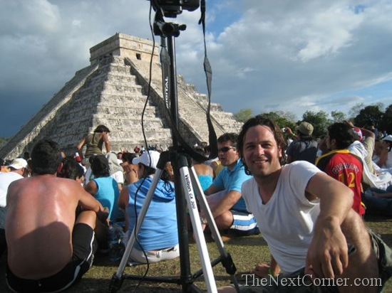 Making the Chichen Itza Equinox Timelapse in 2008