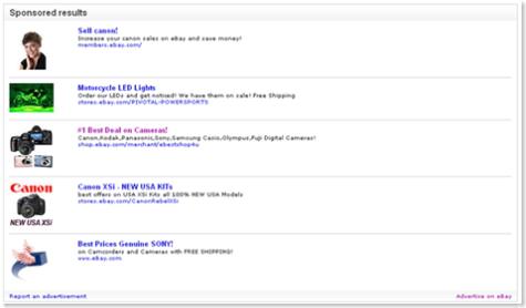 eBay Adcommerce