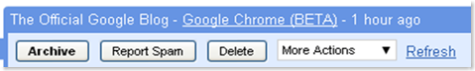 Chrome in Gmail