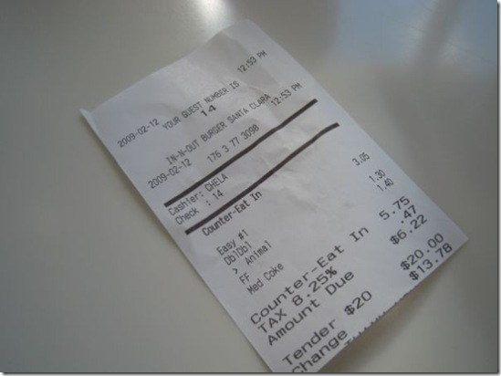 first-time-In-N-Out-Burger-receipt