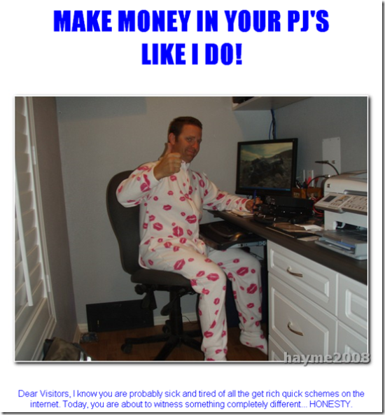 Make Money in your PJ's