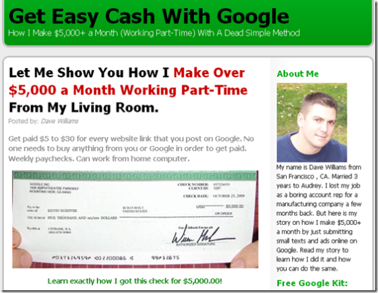 Get Easy Cash With Google