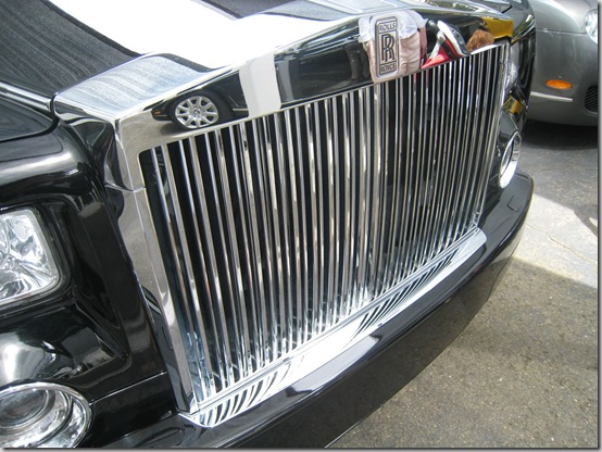 Rolls Royce Barbeque