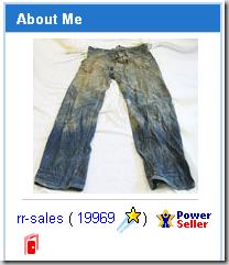 Vintage 1890's Levi's Jeans 201