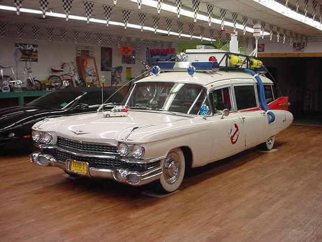 New Movie Ghostbusters S Car Model Lot