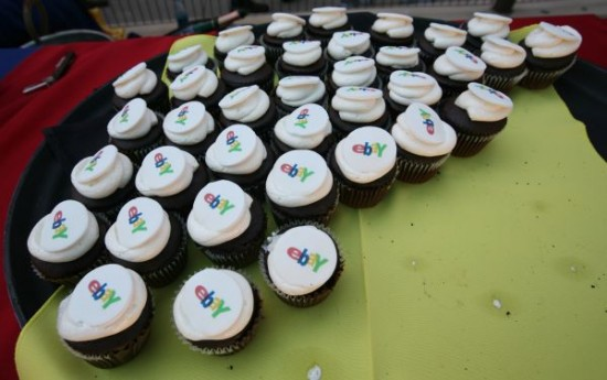 eBay 15 years, happy birthday here are some cupcakes