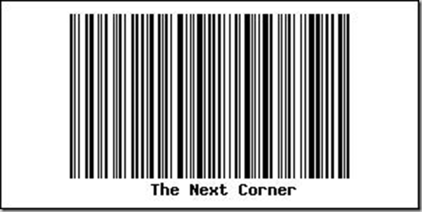 The Next Corner Barcode