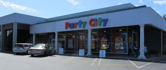 party city san jose customer parking only