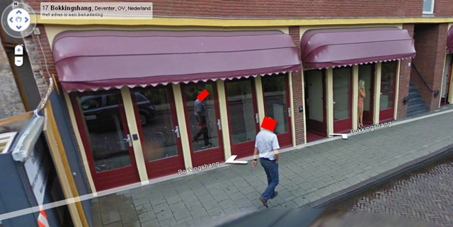 What If You Were Snapped On Street View Walking The Red