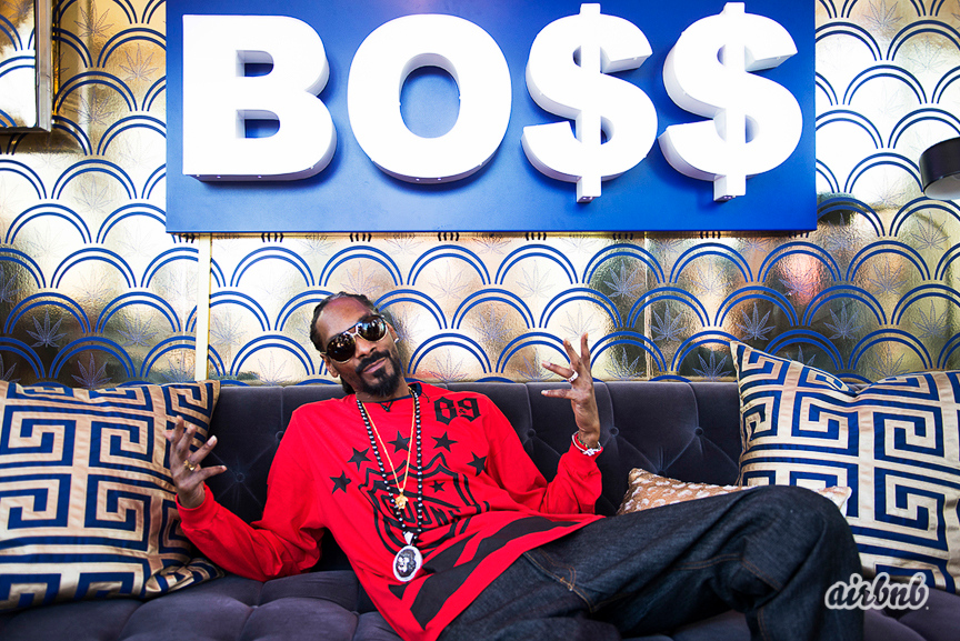 Snoop Dogg Airbnb park SxSW Austin