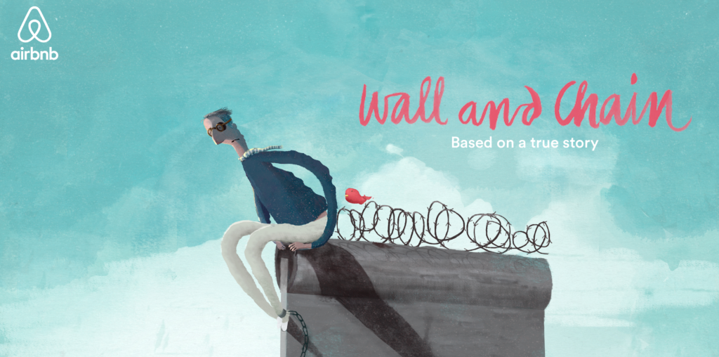 Wall and Chain - A story about belonging by Airbnb. Dennis Goedegebuure