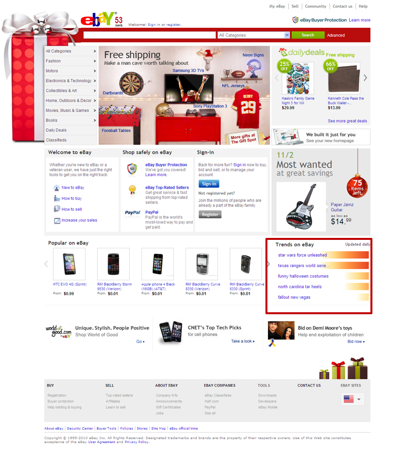 ebay-homepage-links