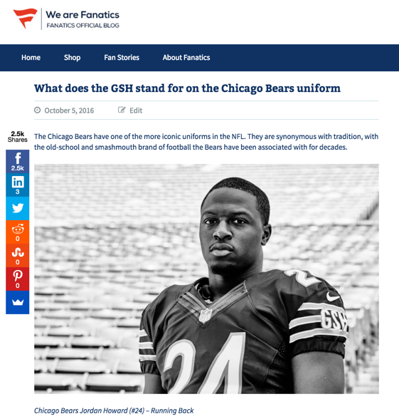 Fanatics GSH Bears blogpost